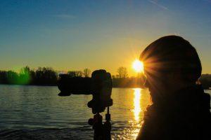 Fotograf Sonnenuntergang