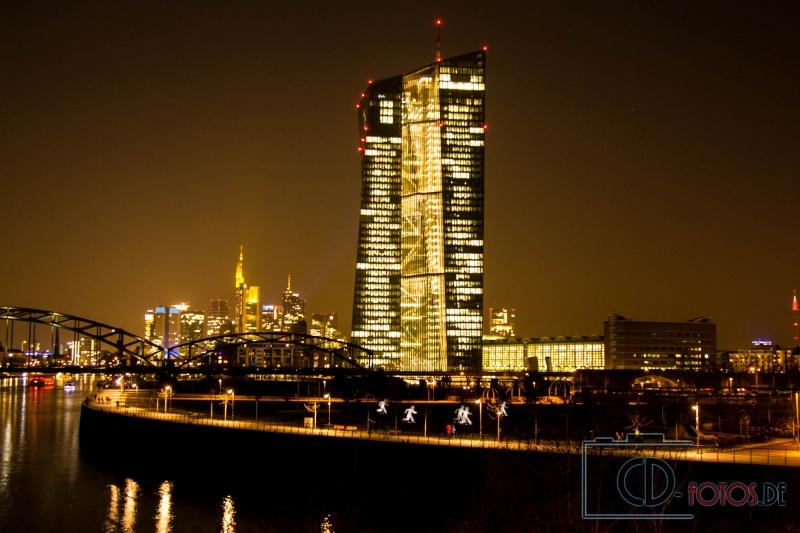 Fotografie der EZB in Frankfurt